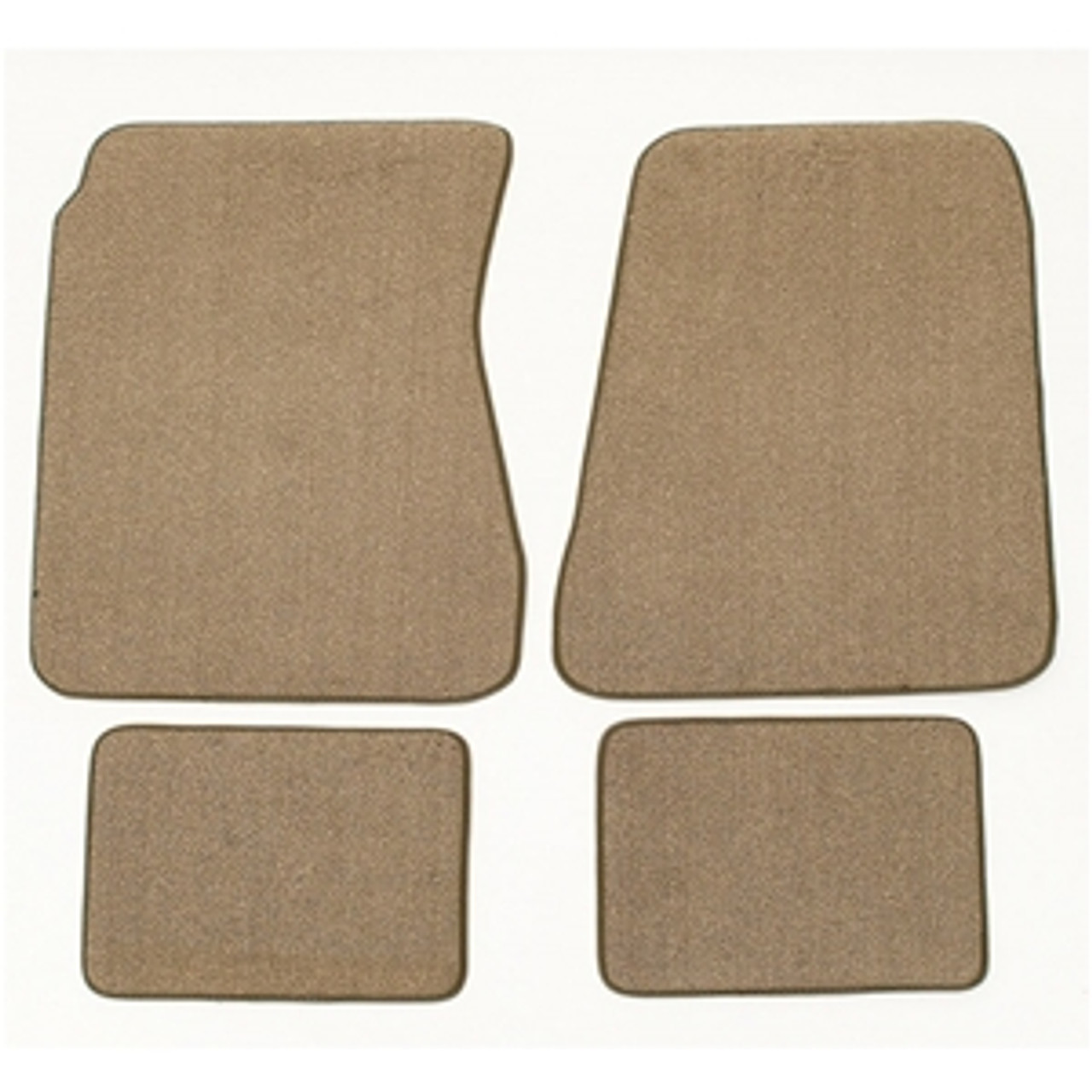 1968-72 Chevelle Custom Floor Mats (Carpeted, Loop, Any Color, w/ or w/o Logo)