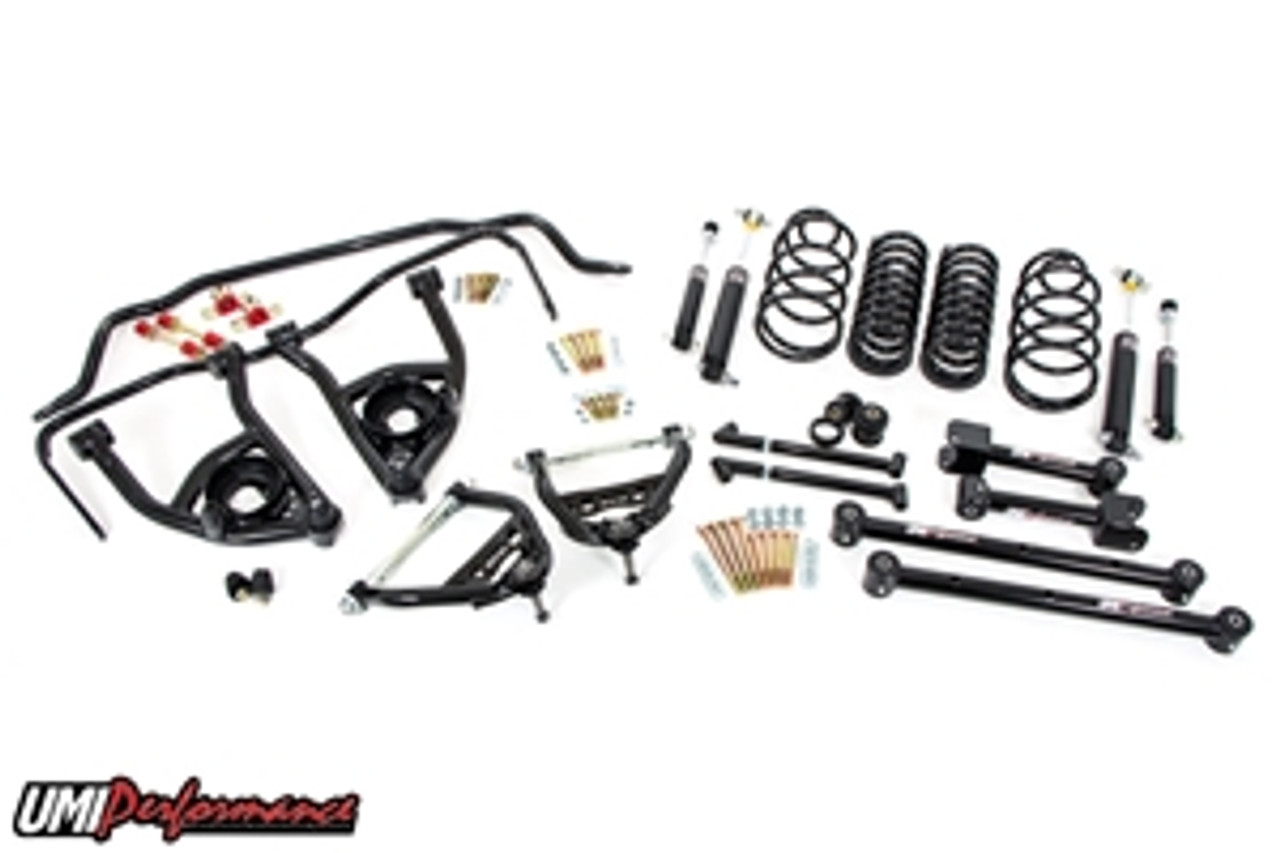 """1965 1966 GM A-Body UMI Stage 2 Handling Package, 2"""" Lowering"""