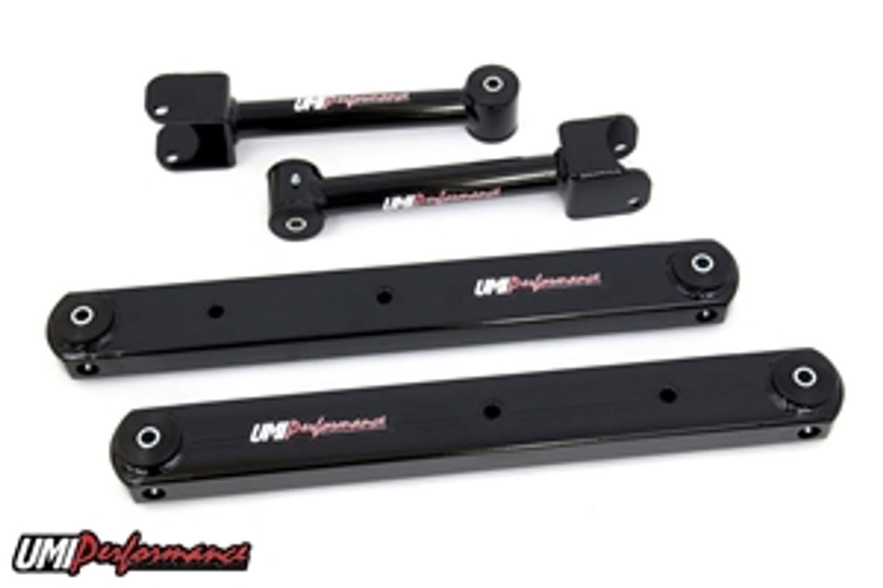 1968-72 GM A-Body Rear Control Arm Kit, Fully Boxed Lowers