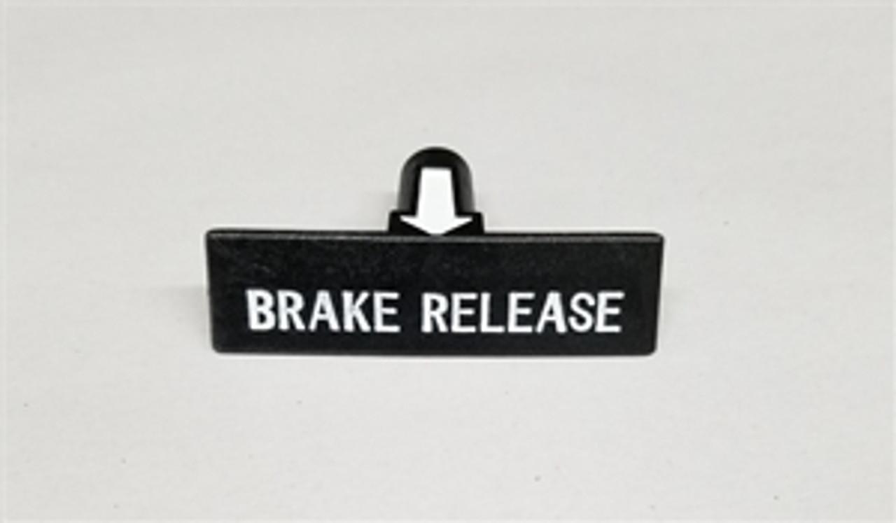 1964-67 Emergency Brake Knob with Arrow