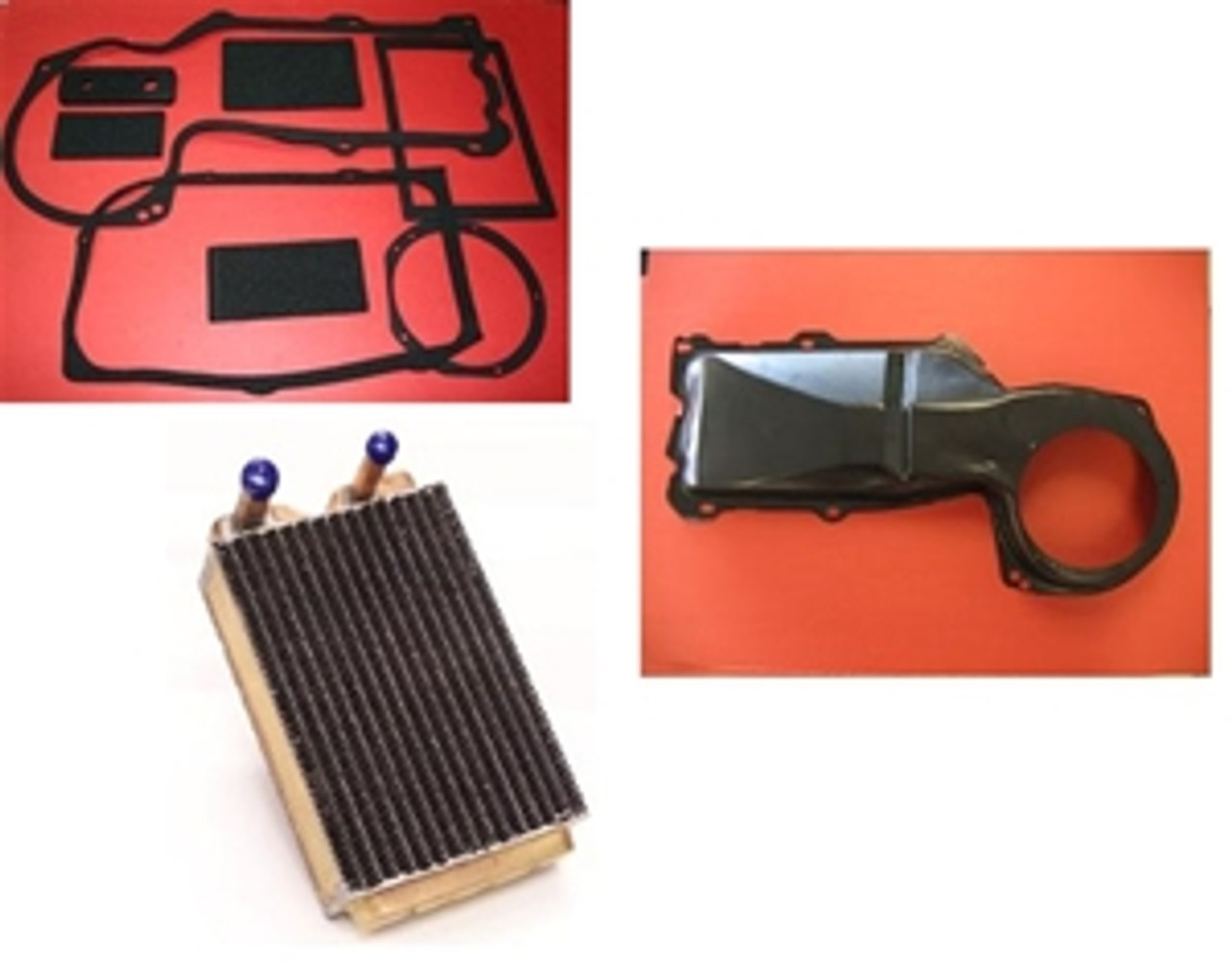 1964-72 Chevelle Heater Restoration Kit, incl. Core, Box & Seals