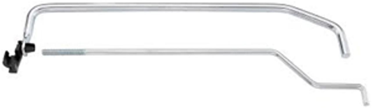 1969-72 Chevelle Or El Camino Inner Door Lock Rod and Bell Crank Assembly, per door.