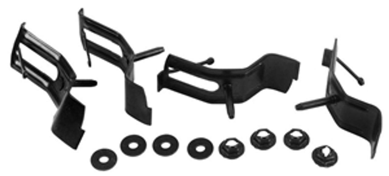 1964-67 Tailgate Molding Clips