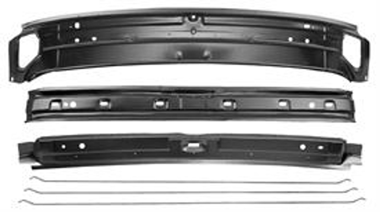 1968-72 El Camino Roof Panel Braces (kit)