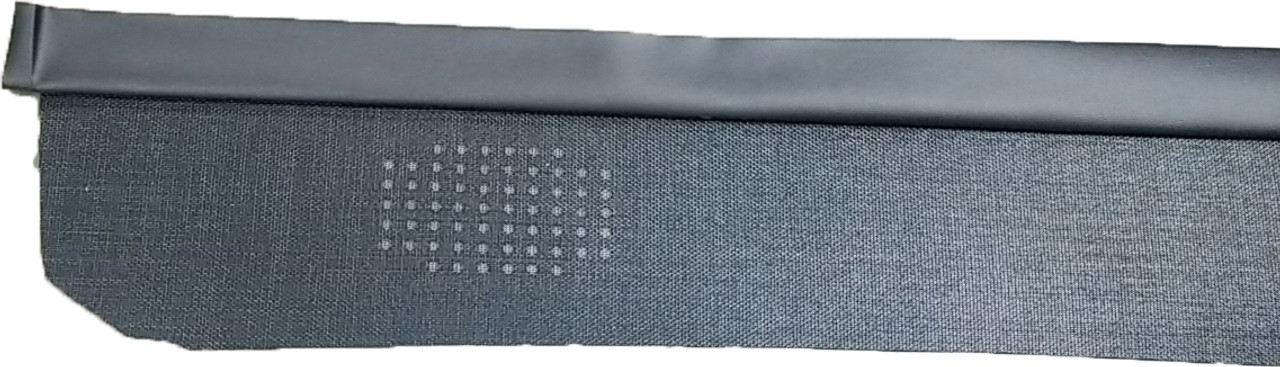 1966-67 Chevelle Rear Deck Shelf, Mesh.  Black Only.