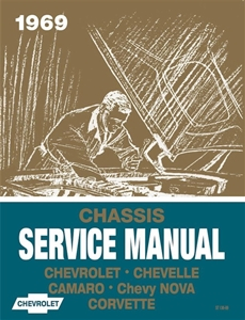1967 CHASSIS SERVICE MANUAL CHEVY CORVETTE CHEVELLE CAMARO CHEVY II FREE SHIP