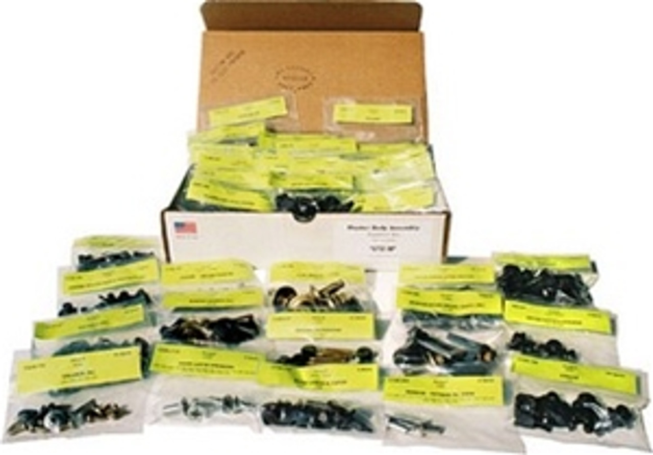 1966-67 Chevelle Master Engine Bolt Kit, 396 with Iron Intake