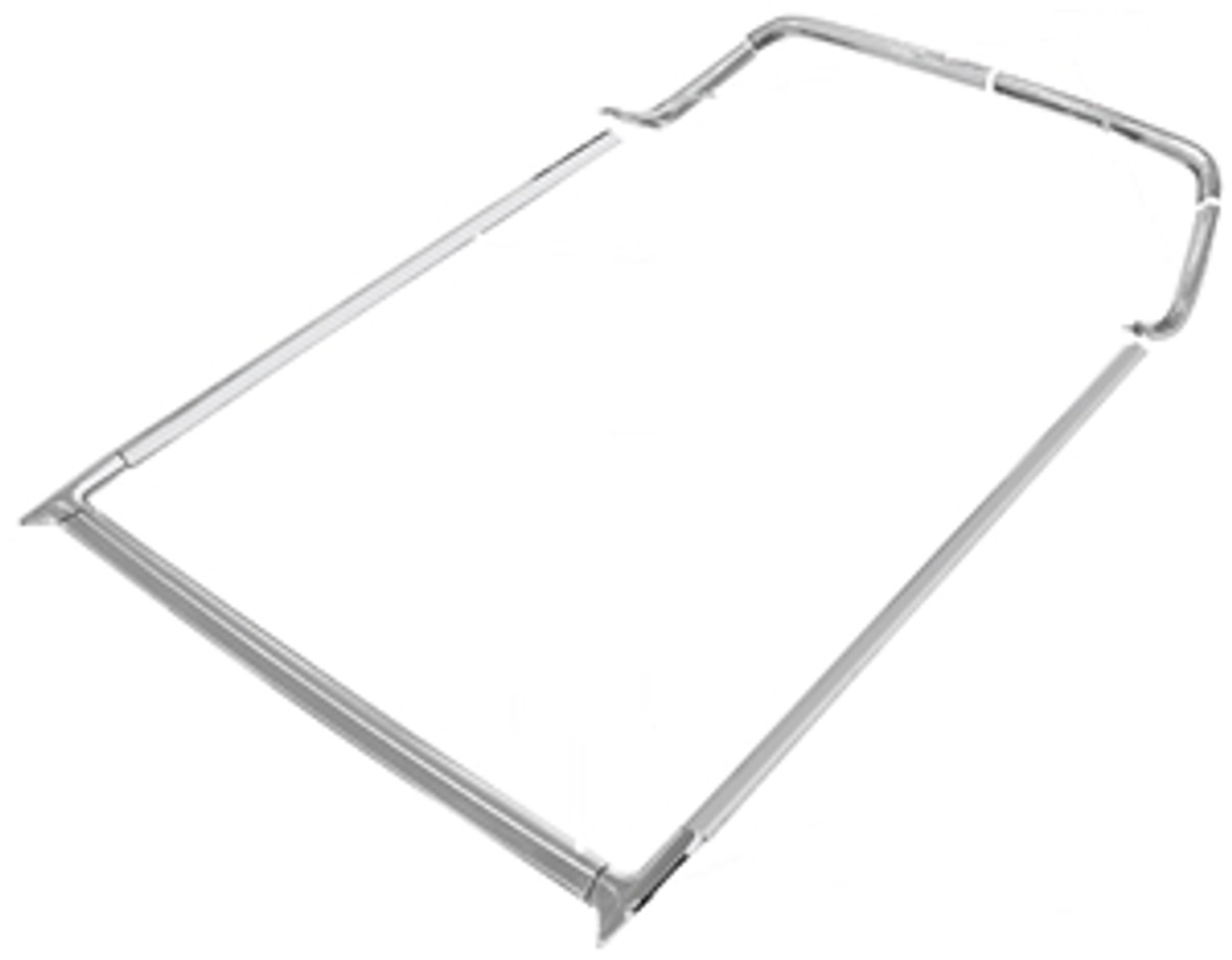 1964-67 El Camino Complete Bed Molding Kit