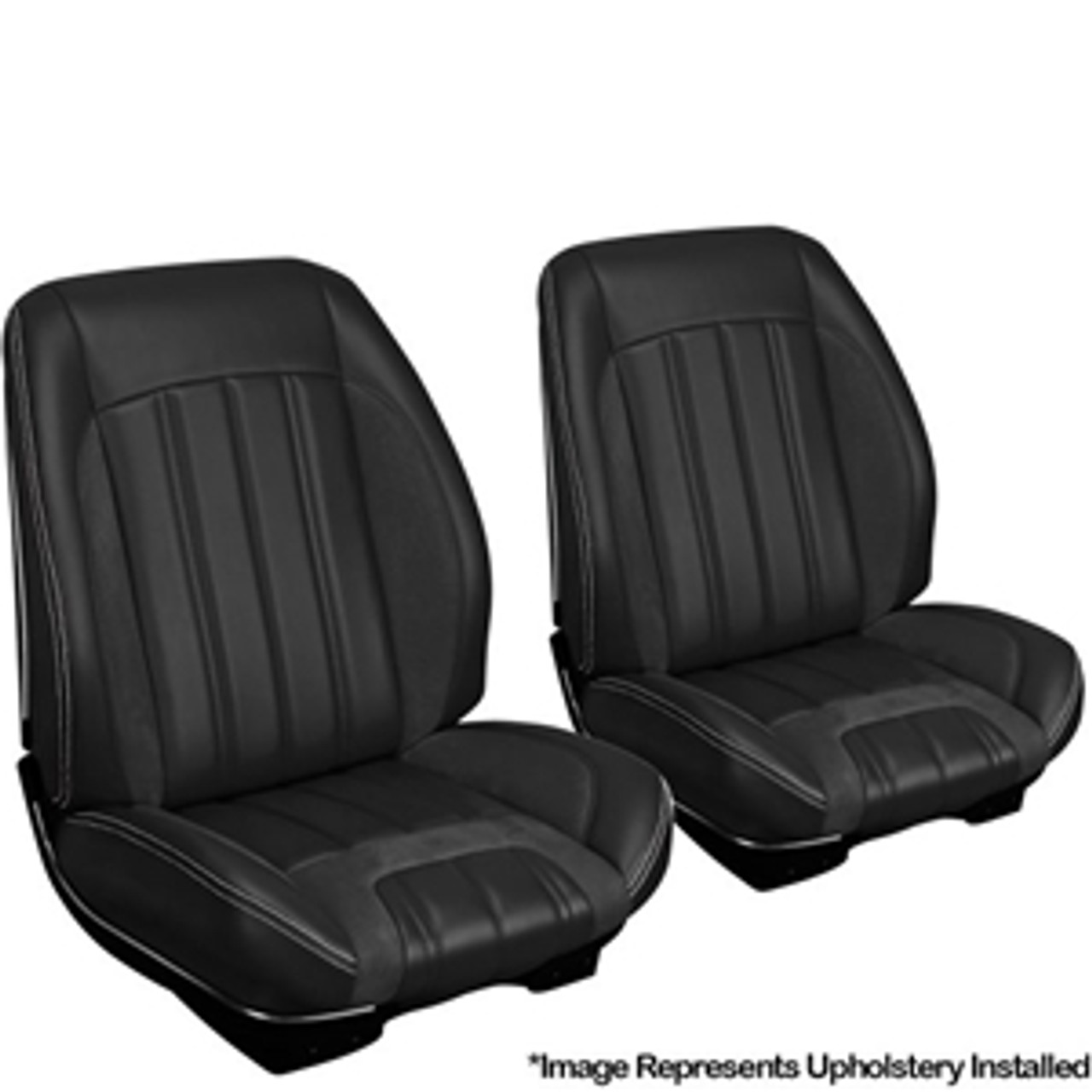 1966 TMI Chevelle or El Camino Sport R Style Bucket Seat Cover Kit