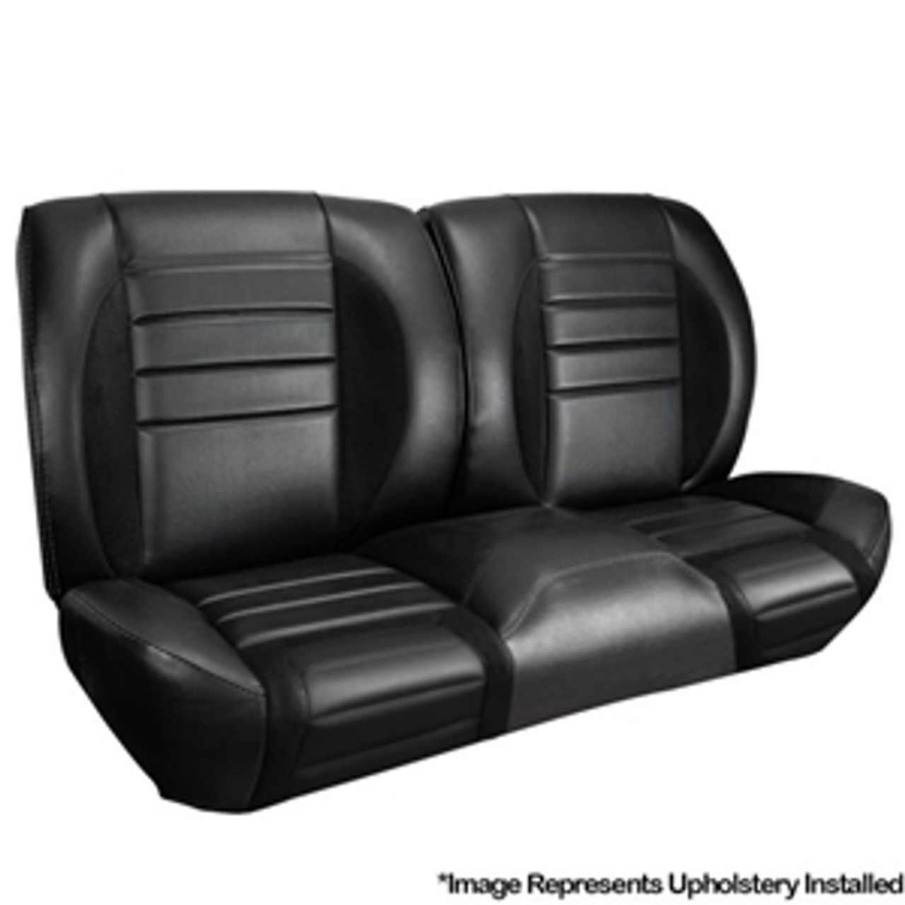 1965 TMI Chevelle or El Camino Sport R Style Bench Seat Cover Kit
