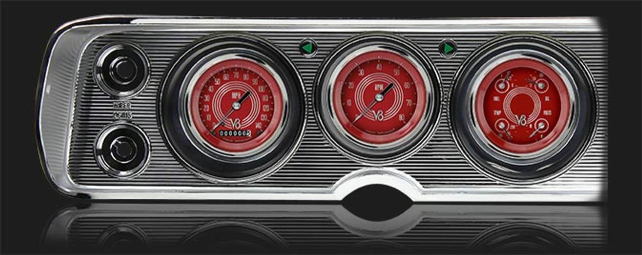 V8 Red Steelie 1964-65 Chevelle Package