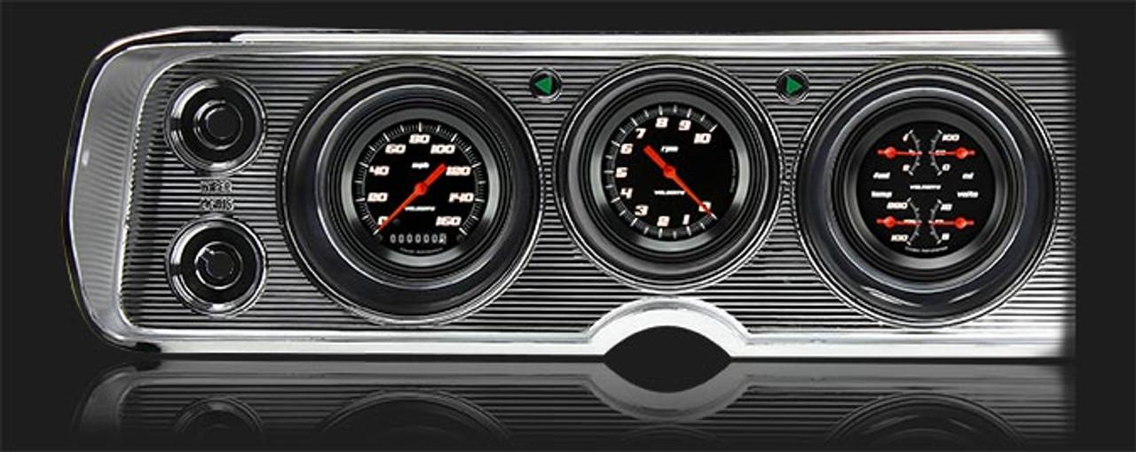 Velocity Black 1964-65 Chevelle Package
