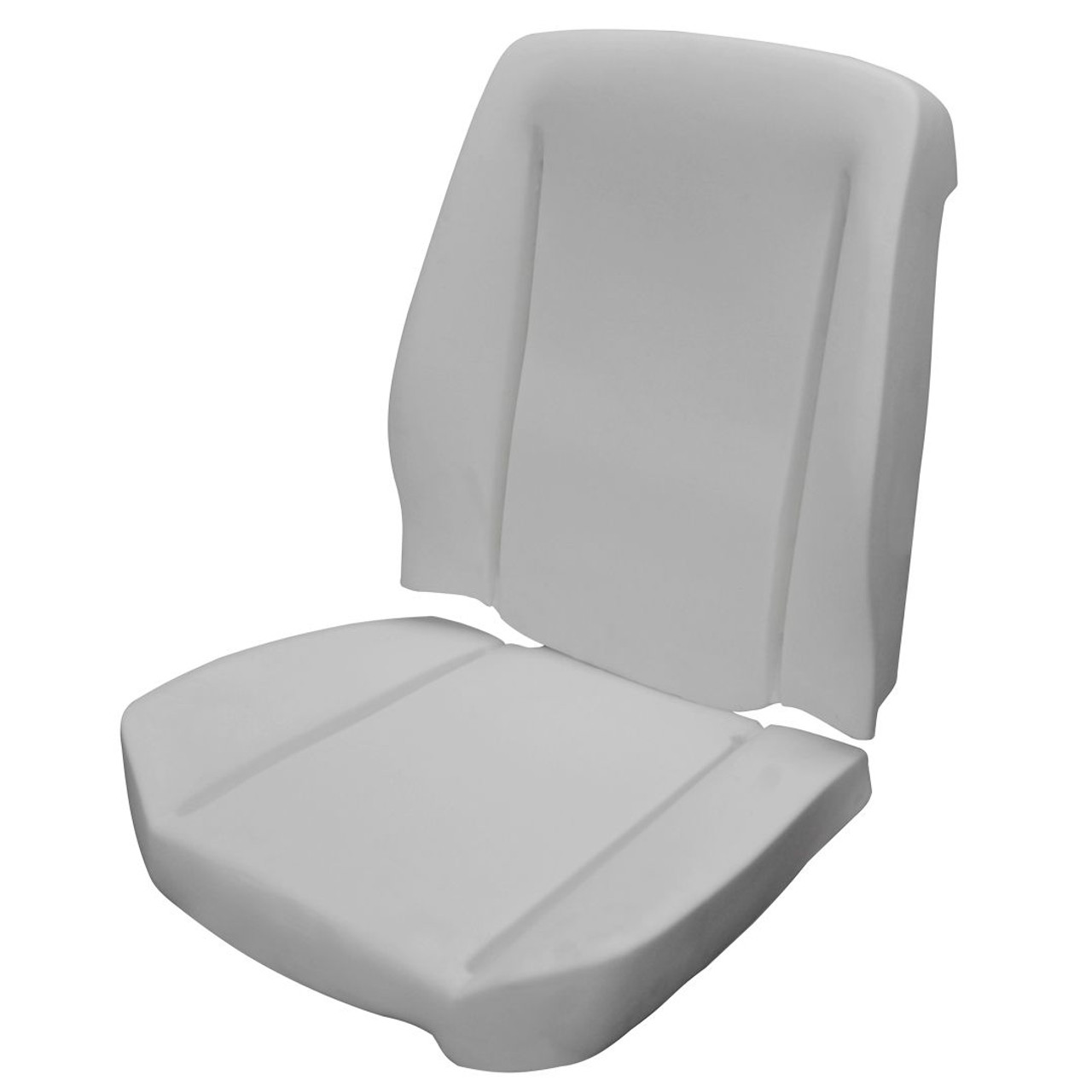1966-72 Bucket Seat Foam for TMI Seats, 1 seat