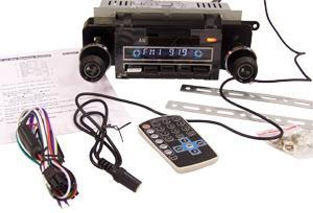 1971-72 AM/FM Radio WITH OUT Bluetooth, limited supply