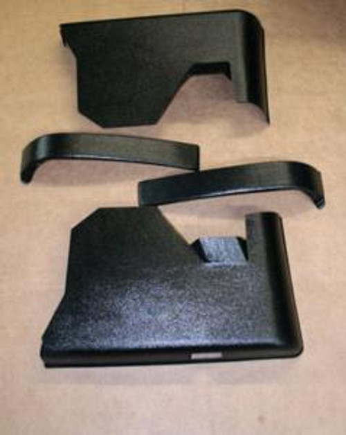 1970-72 Chevelle Hardtop Rear Arm Rest Panels (Set)