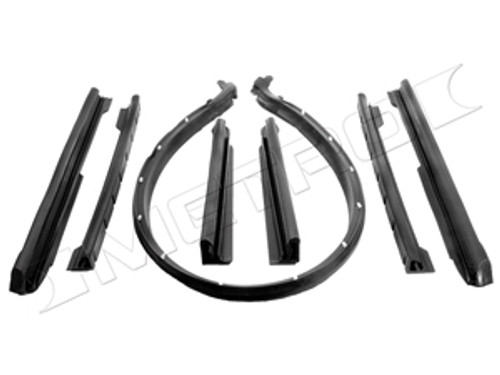 1969-72 Ultimate Convertible Weatherstrip Kit (rubber package)