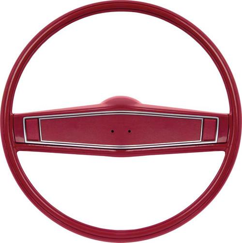 1969-70 Stock Black Steering Wheel (Complete) W/O EMBLEM