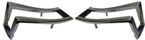 1968 Taillight Bezels (Pair)