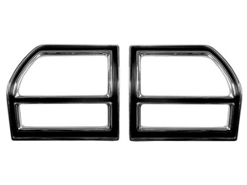 1969 Taillight Bezels (Pair)