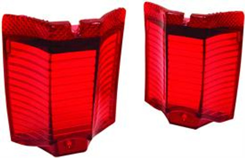 1964 El Camino Tail Light Lens (Pair)