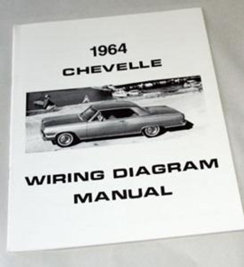 1964 Wiring Diagram - Ausley's Chevelle Parts
