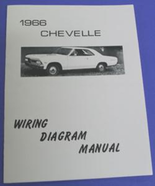 1966 Wiring Diagram Ausley S Chevelle Parts