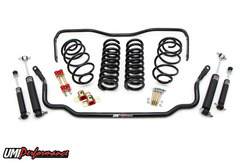 """1968-72 GM A-Body UMI Stage 1 Handling Package, 1"""" Lowering"""