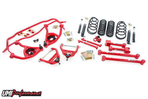 "1968-72 GM A-Body UMI Stage 2 Handling Package, 2"" Lowering"