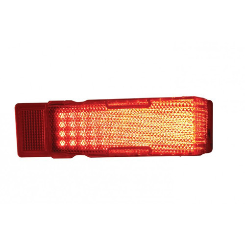 L//H United Pacific 30 LED Tail Light Lens For 1968-69 Chevy El Camino /& Station Wagon