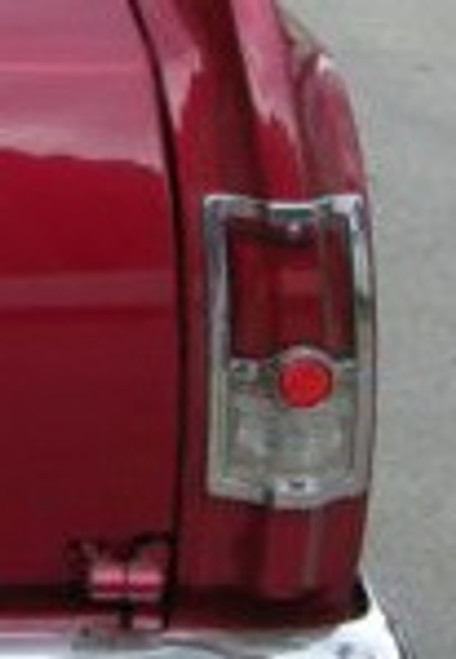 1964 EL CAMINO AND WAGON TAIL LIGHT REFLECTOR (pr)