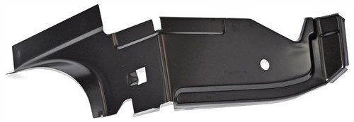 1966-67 PACKAGE TRAY PANEL, SIDE SUPPORT, LEFT (ea)