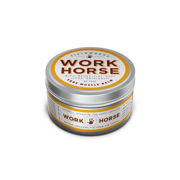 work horse muscle balm