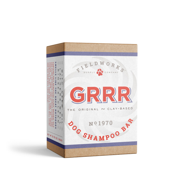 GRRR dog shampoo bar