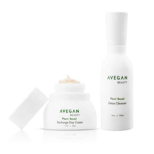 Recharge Day Cream and Detox Cleanser