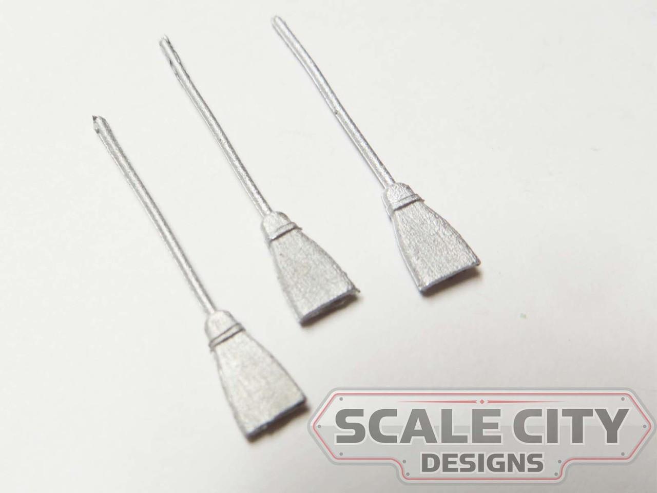 48-752 sweep broom  O Scale FKA KEIL LINE
