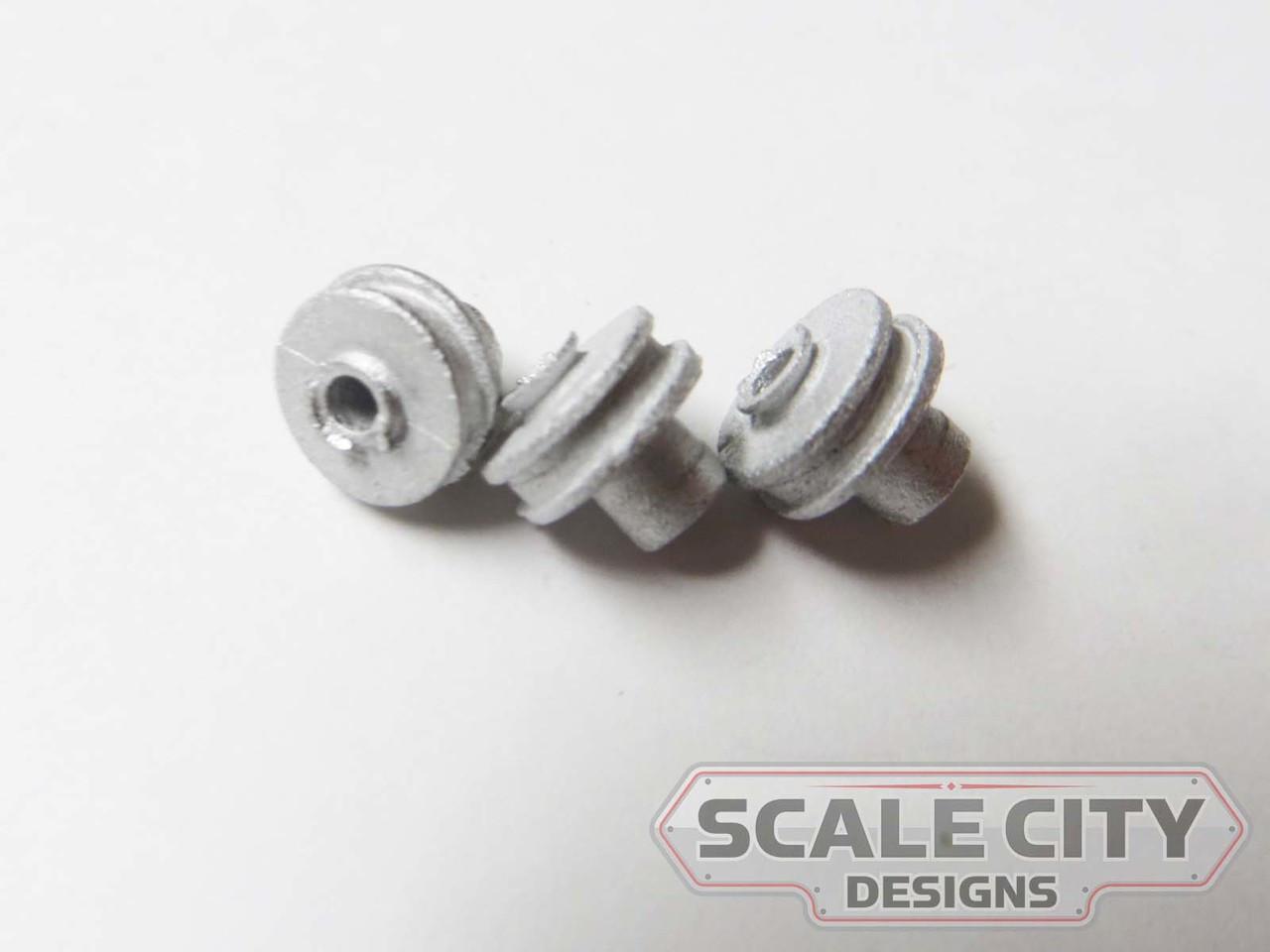 48-758 Machine Pulley Small industrial O Scale FKA KEIL LINE