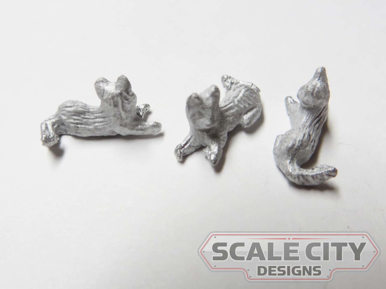 48-1266 Cats Kittens Figure O Scale FKA Keil Line