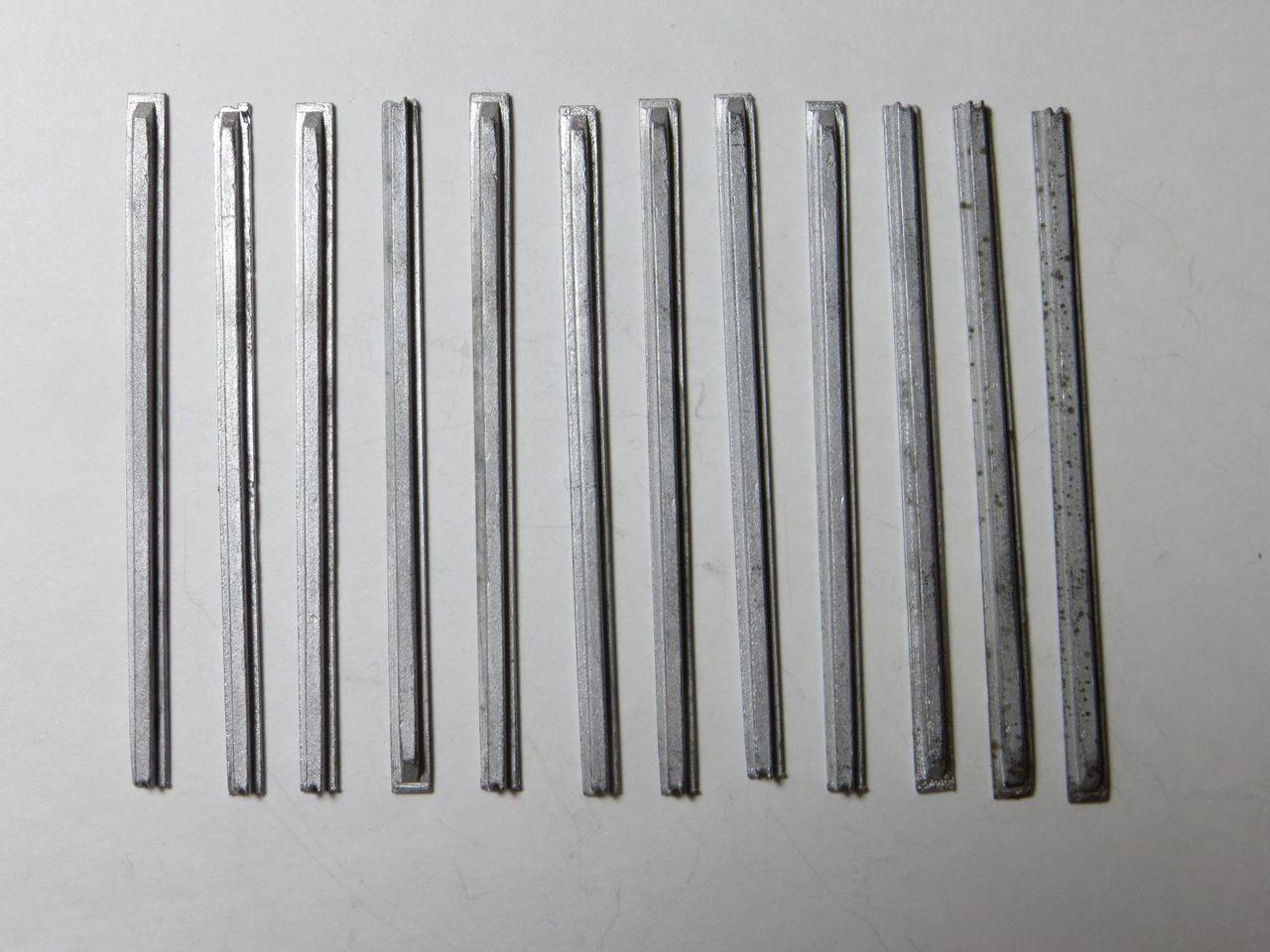 48-014  PULLMAN STD FREIGHT CAR SIDE RIBS 9'3'L x 10'W O SCALE (FORMERLY KEIL-LINE)