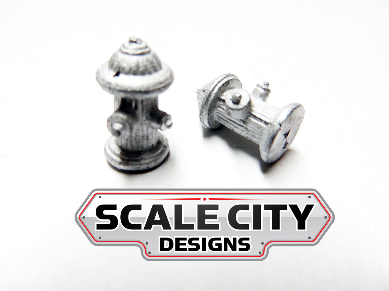 48-020 FIRE HYDRANT SET O SCALE (FORMERLY KEIL-LINE)