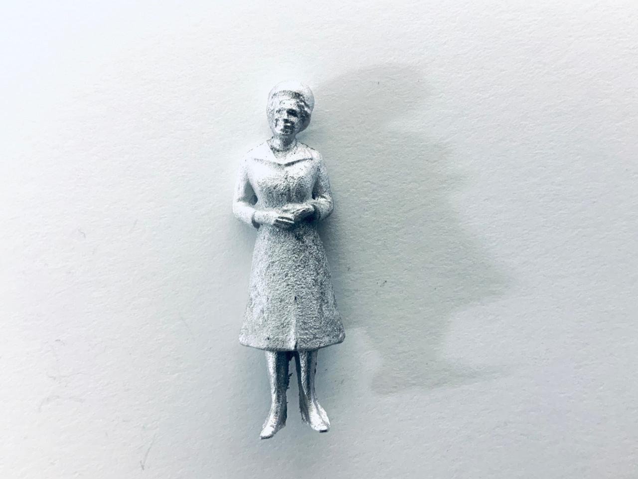 48-1408 Older Woman in Dress Figure FKA Keil Line O scale