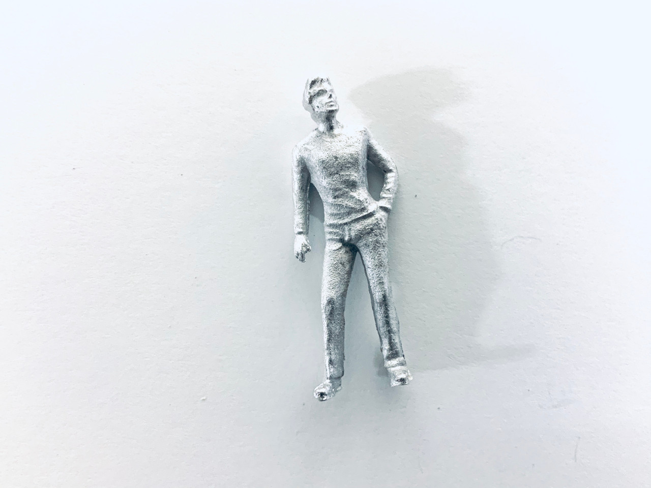 48-1418 Man Looking Up w/ Hand in Pocket Figure FKA Keil Line O scale