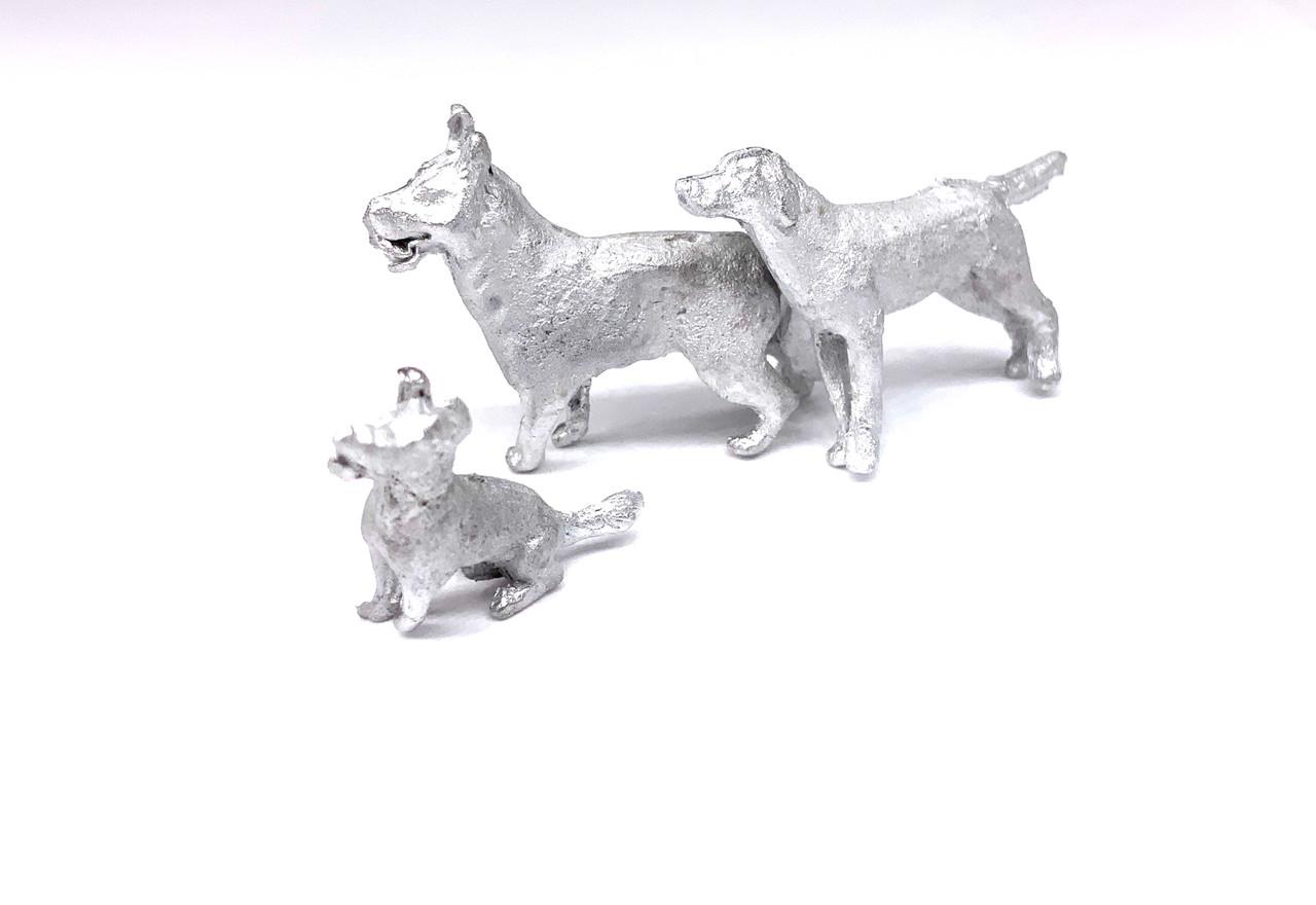 48-1316 Dogs Assorted O Scale FKA Keil Line