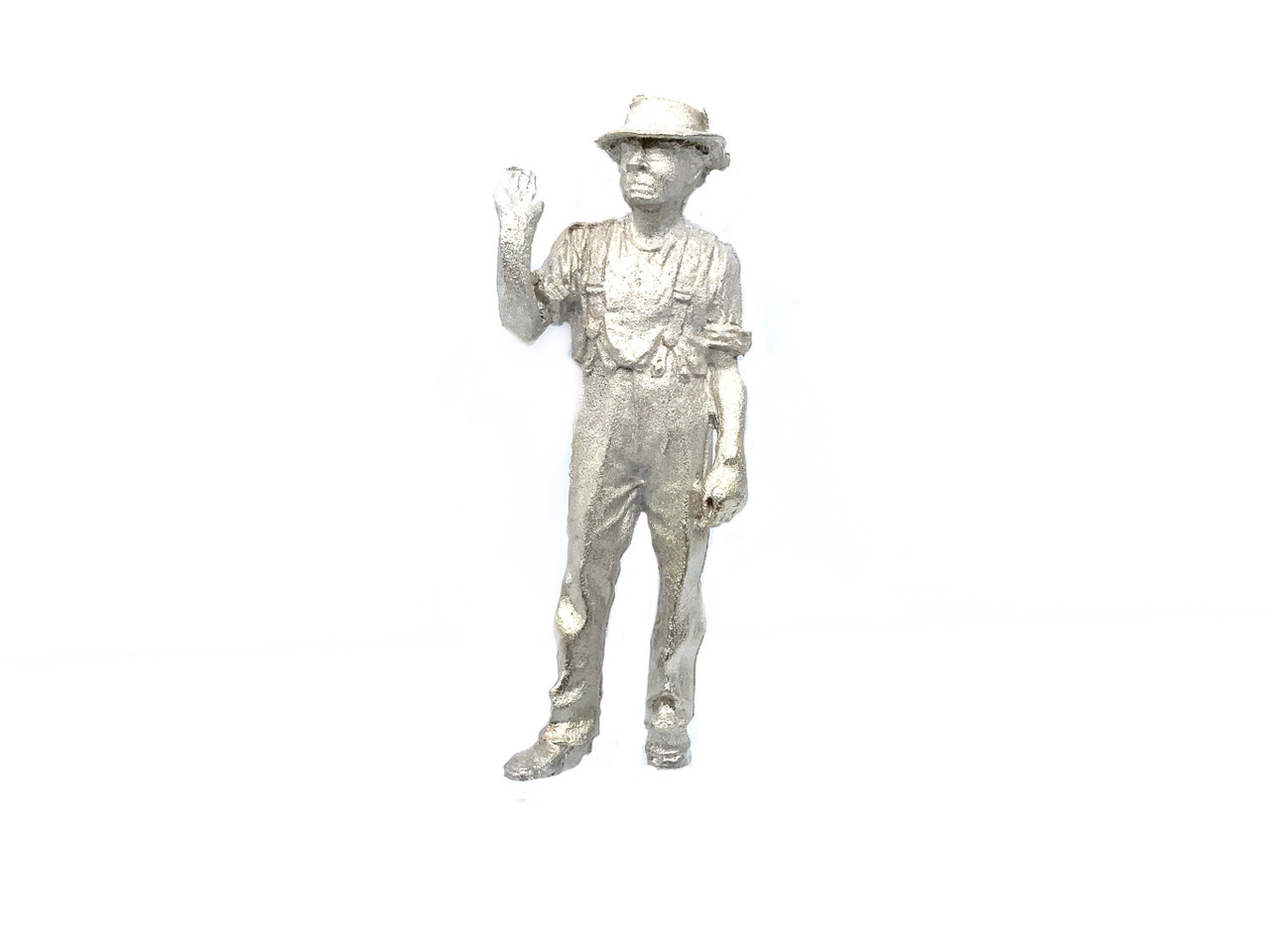 48-1437 Worker with Hand Up O Scale FKA Keil Line