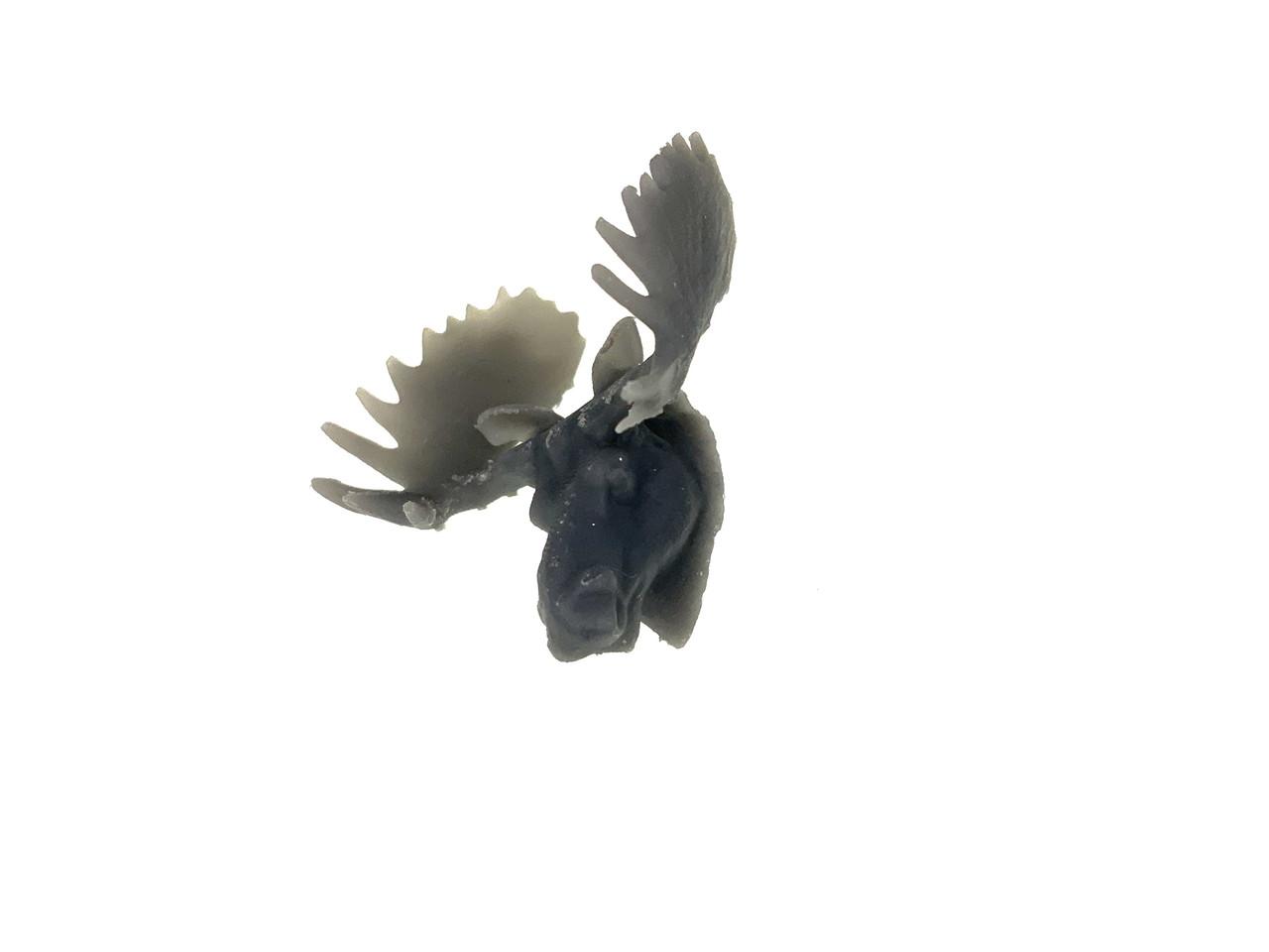 3D-001 Moose Head 3D Printed O Scale 1/48 Diorama Detail Bar