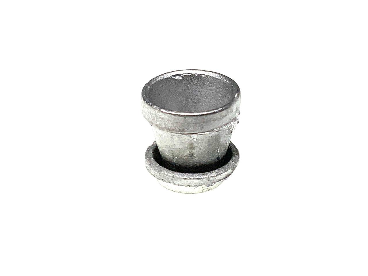 """MM-4 Flower Pot with saucer 4"""" Diameter Dollhouse Miniature"""