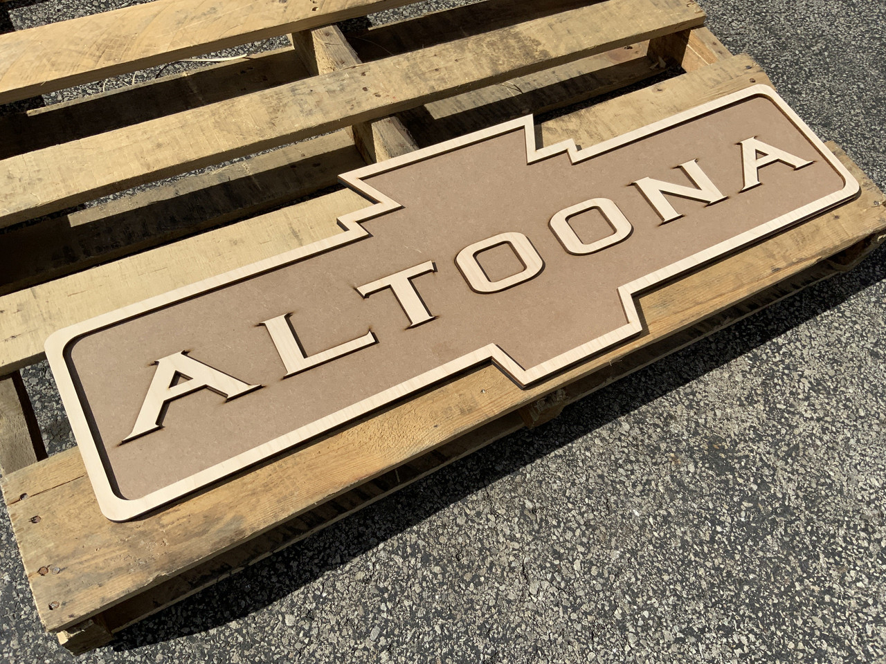 FULL SIZE! PRR Pennsylvania Railroad Replica Station approach Sign ANY NAME YOU WANT!