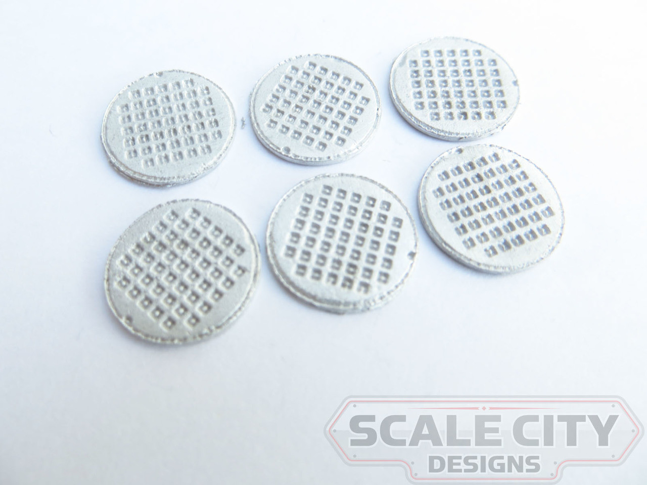 "48-662 SEWER COVERS UNLETTERED 24"" O SCALE FKA KEIL LINE"