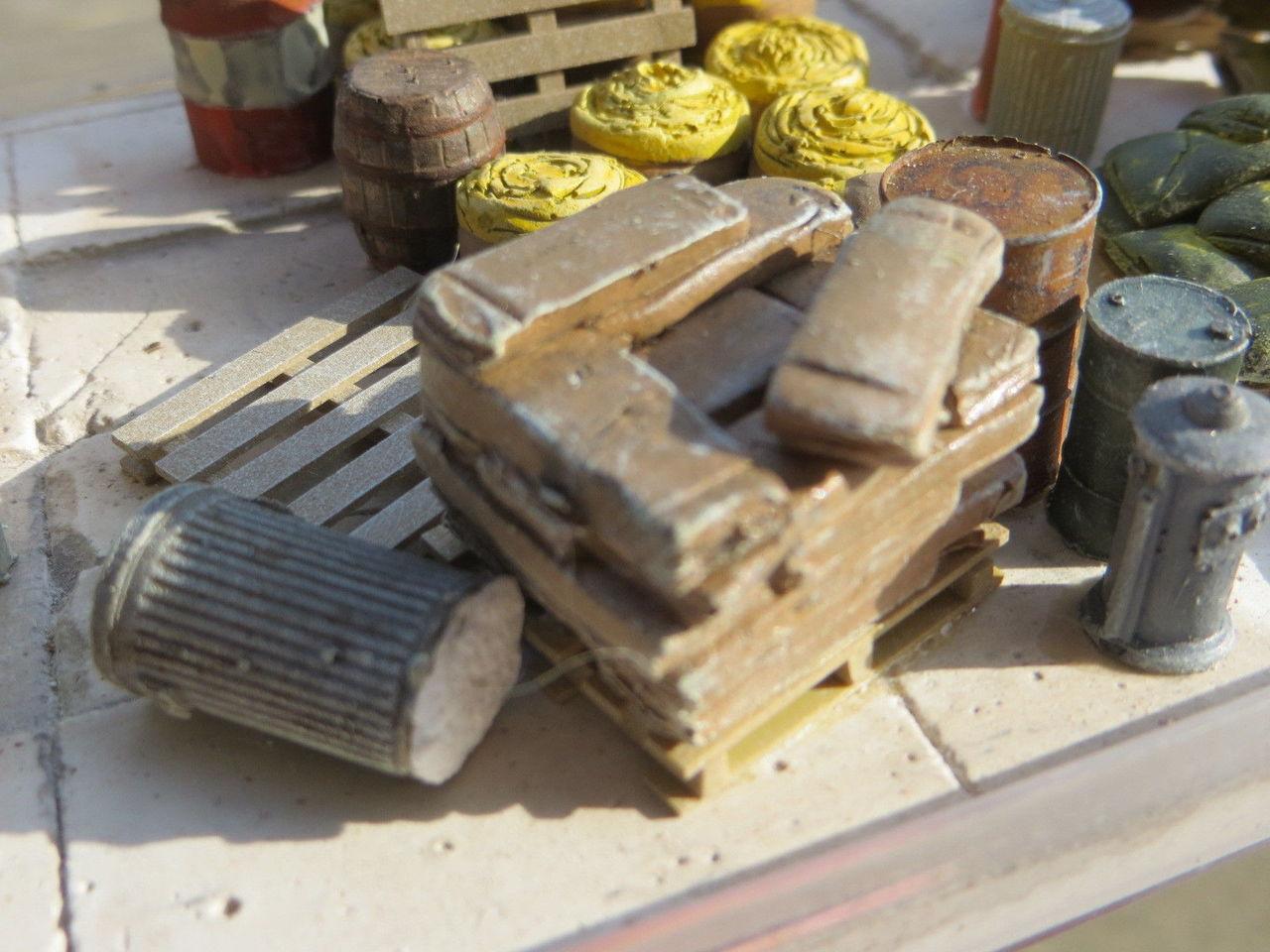 48-3005 Shingles Bundles O ON3 Scale Resin Casting Details