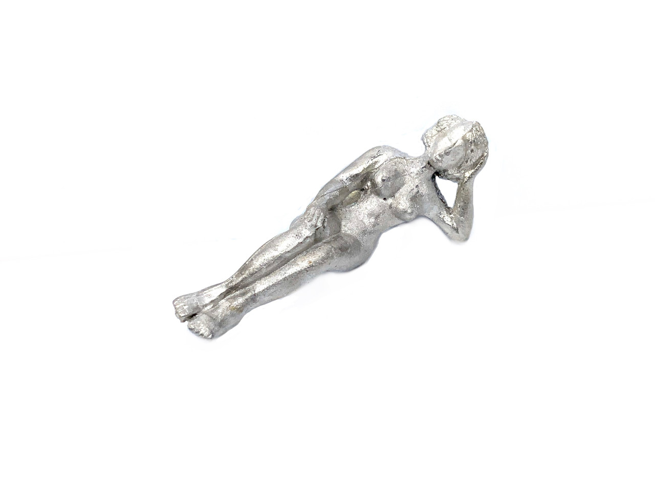 48-1277 Nude woman laying on arm brothel O Scale Figure FKA Keil Line unpainted