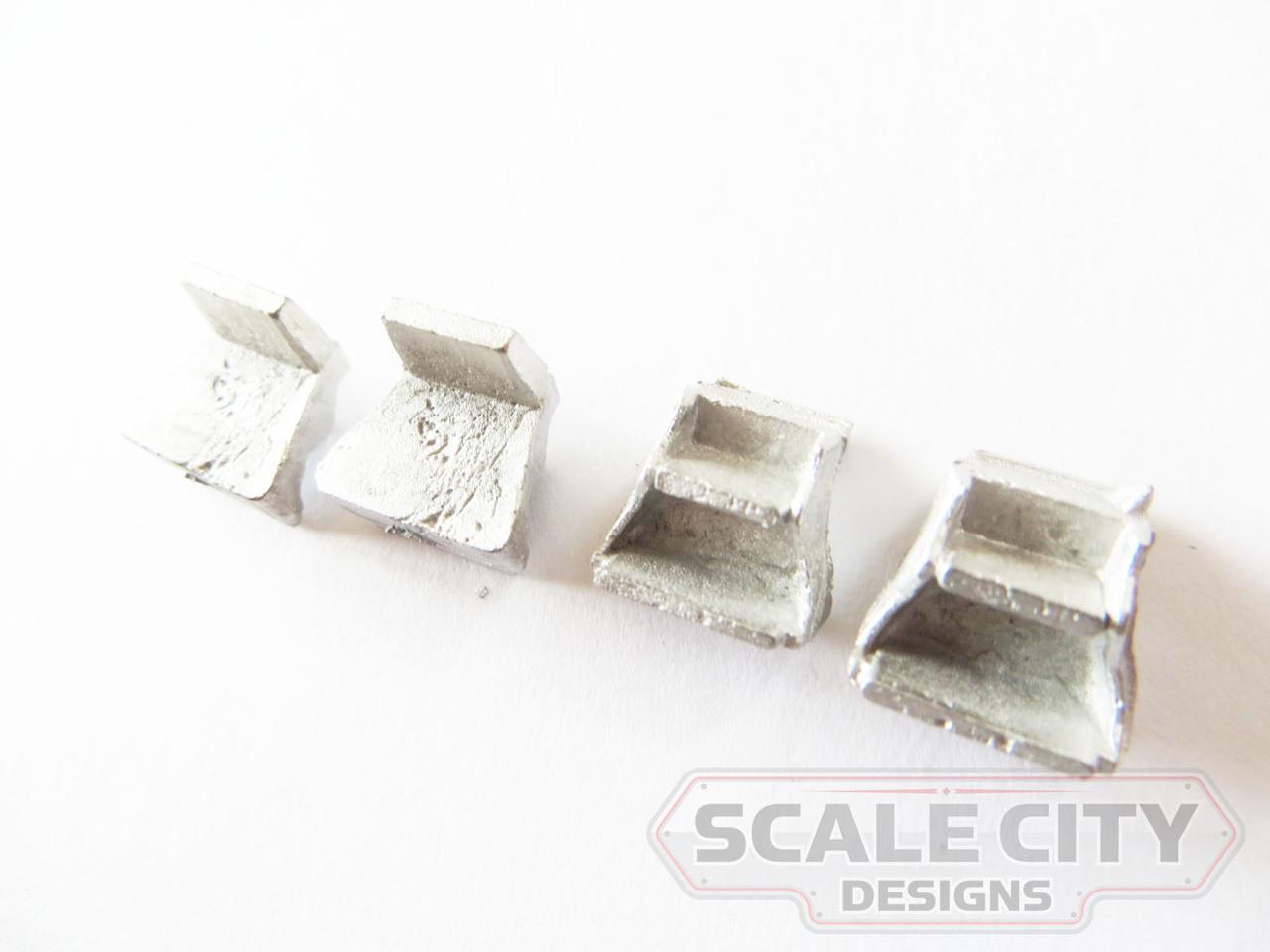 48-699 Caboose Steps Tender Style O Scale FKA Keil Line